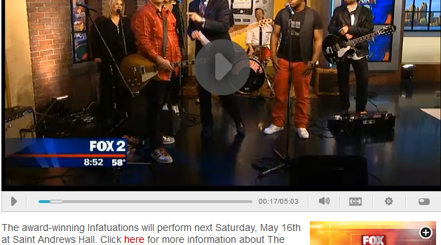 The Infatuations on Fox 2